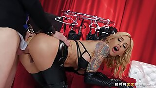 Sarah Jessie gets assfucked by Markus Dupree standing